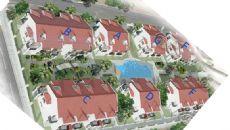 Antalya Hus med Spansk Stil i Lara, Planritningar-1