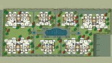 Antalya Hus med Spansk Stil i Lara, Planritningar-3