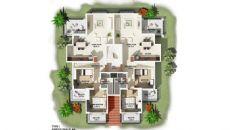 Antalya Hus med Spansk Stil i Lara, Planritningar-4