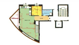 Sea View Apartments in Antalya, Property Plans-1