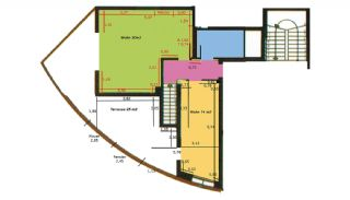 Sea View Apartments in Antalya, Property Plans-2