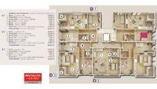 Résidence Kanyon II de Luxe à Vendre à Konyaalti, Projet Immobiliers-1