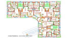املاک آنتالیا برای فروش با امکانات غنی, پلان ملک-1