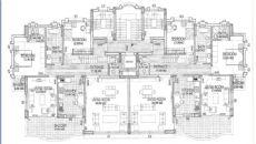 Zeezicht Appartementen in Lara, Vloer Plannen-1