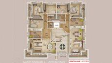 Каньон Резиденция I, Планировка -1
