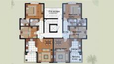 Апартаменты Лара Гольф, Планировка -1