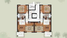 Апартаменты Лара Гольф, Планировка -2