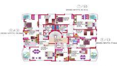 Gardenia Houses, Planritningar-1