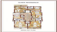 Ulker Residence, Планировка -1