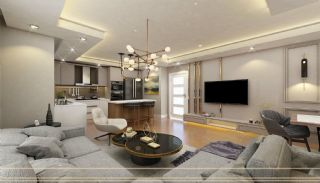 Luxury Apartments in Complex with Rich Facilities in Antalya, Interior Photos-5