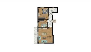 High-Quality Apartments with Separate Kitchen in Antalya, Property Plans-4