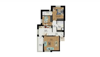 High-Quality Apartments with Separate Kitchen in Antalya, Property Plans-6