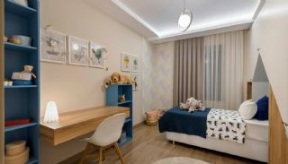 Panoramic View Apartments with Shopping Street in Antalya, Interior Photos-12