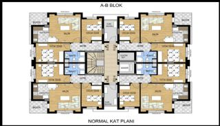 Luxurious Flat Close to Social Amenities in Antalya Konyaaltı, Property Plans-1