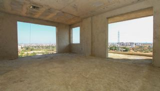 Real Estate in Antalya with Panoramic City and Sea Views, Construction Photos-10