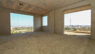 Недвижимость в Анталии с Панорамным Видом на Город и Море, Фотографии строительства-10