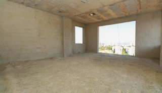 Real Estate in Antalya with Panoramic City and Sea Views, Construction Photos-12