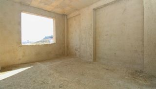 Real Estate in Antalya with Panoramic City and Sea Views, Construction Photos-13