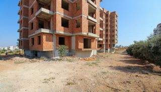 Real Estate in Antalya with Panoramic City and Sea Views, Construction Photos-2