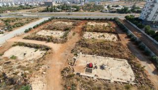 Real Estate in Antalya with Panoramic City and Sea Views, Construction Photos-7