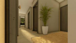 Недвижимость в Анталии с Панорамным Видом на Город и Море, Фотографии комнат-7