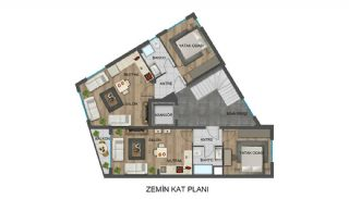 Strategically-Located Antalya Apartments Close to Bus Stops, Property Plans-4