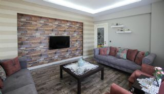 Luxury Renovated Flat Facing Four Fronts in Antalya, Interior Photos-1