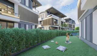 Investeringsvilla's dicht bij de luchthaven en stranden in Lara, Antalya / Lara - video