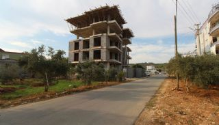 Nagelneue Wohnungen in der Nähe von Annehmlichkeiten in Kepez, Foto's Bau-1