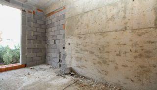 Nagelneue Wohnungen in der Nähe von Annehmlichkeiten in Kepez, Foto's Bau-11
