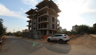 Nagelneue Wohnungen in der Nähe von Annehmlichkeiten in Kepez, Foto's Bau-2