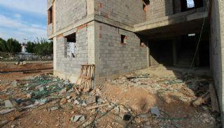 Nagelneue Wohnungen in der Nähe von Annehmlichkeiten in Kepez, Foto's Bau-4