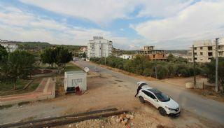 Nagelneue Wohnungen in der Nähe von Annehmlichkeiten in Kepez, Foto's Bau-5