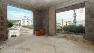 Nagelneue Wohnungen in der Nähe von Annehmlichkeiten in Kepez, Foto's Bau-8