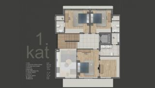 Luxurious Detached Villas with Private Pool in Konyaaltı, Property Plans-3