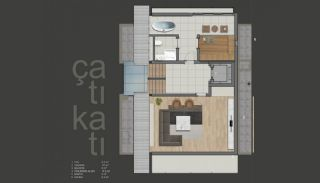 Luxurious Detached Villas with Private Pool in Konyaaltı, Property Plans-4