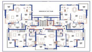 Stylish Designed Ready Property in Antalya Turkey, Property Plans-3