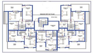 Stylish Designed Ready Property in Antalya Turkey, Property Plans-4