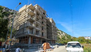 Top Quality Apartments with Mountain View in Konyaaltı, Construction Photos-4