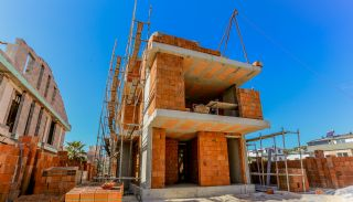 Ultra Luxurious Villas with Private Pool and Garden in Lara, Construction Photos-3