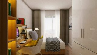 Prisvärda lägenheter nära Antalyas flygplats i Kepez, Interiör bilder-14