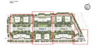 New Apartments in Smart City Complex with Tramline in Antalya, Property Plans-12
