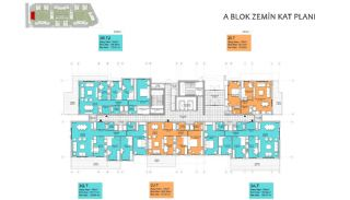 Nya lägenheter i Smart City Complex med spårvagnslinje i Antalya, Planritningar-14