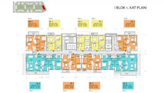 New Apartments in Smart City Complex with Tramline in Antalya, Property Plans-17
