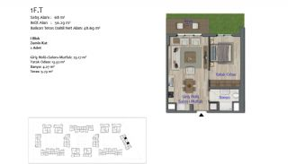 New Apartments in Smart City Complex with Tramline in Antalya, Property Plans-3