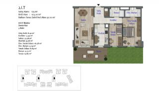 New Apartments in Smart City Complex with Tramline in Antalya, Property Plans-7