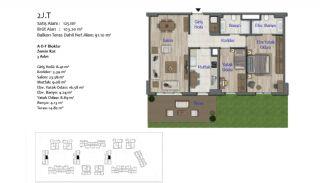 Nya lägenheter i Smart City Complex med spårvagnslinje i Antalya, Planritningar-7