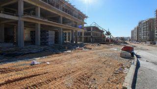Gloednieuwe investeringsappartementen nabij tramlijn in Kepez Antalya, Bouw Fotos-2