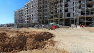 Gloednieuwe investeringsappartementen nabij tramlijn in Kepez Antalya, Bouw Fotos-6