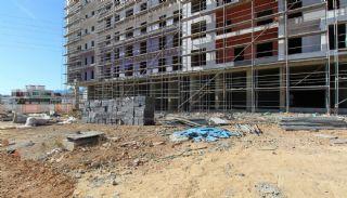 Gloednieuwe investeringsappartementen nabij tramlijn in Kepez Antalya, Bouw Fotos-8